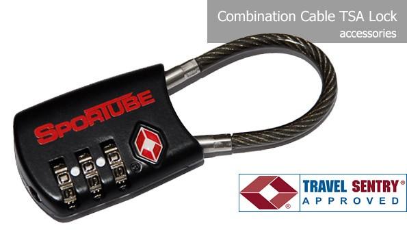Sportube Rod Holder Case TSA Lock