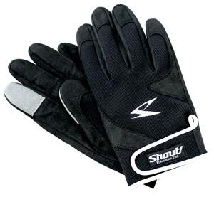 Shout Jigging Gloves Black
