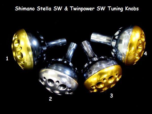 Shimano Stella SW & Twinpower SW Tuning Knobs