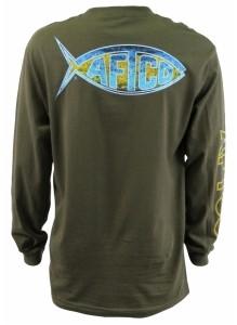 Aftco Dologo LS Dorado T-Shirt MT8089
