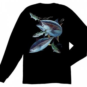 Guy Harvey Hungry Tuna Long Sleeve T-Shirt MTH2356
