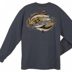 Guy Harvey Smooth Blend Long Sleeve T-Shirt MTH2873