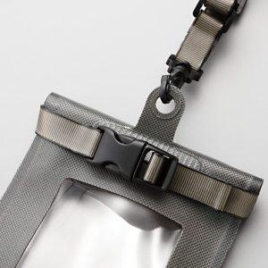 Shimano Waterproof Smartphone Pouch Charcoal