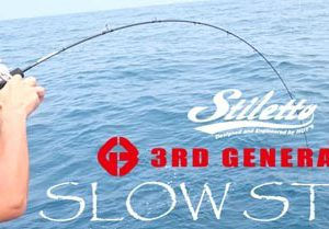 Hot's Stiletto 3rd Generation Slow Style Jigging Rods