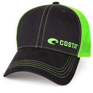 Costa Neon Trucker Black Twill Hat HA 56NG
