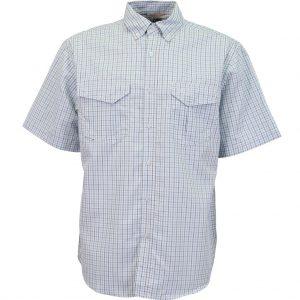 Aftco Vertex Short Sleeve Shirt M45111 Vivid Blue