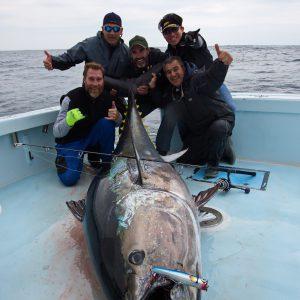 North Carolina 102.5 Inch Bluefin Tuna