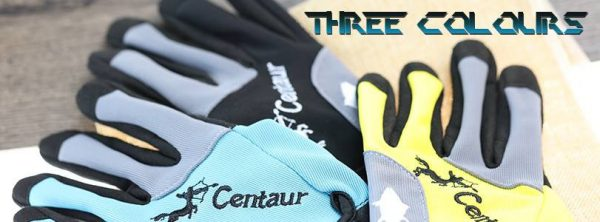 Centaur 3D Gloves 3 Colours Black, Blue and Yellow