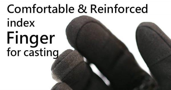 Centaur 3D Gloves Reinforced Index Finger for Casting