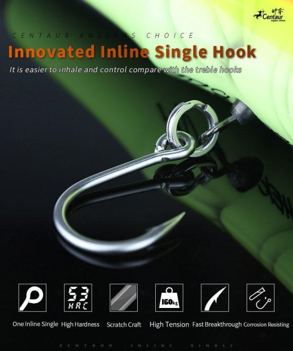 Centaur Inline Single Hook