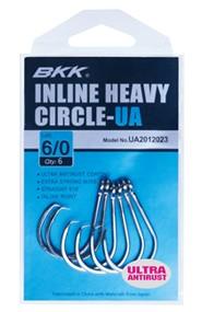 BKK Inline Heavy Circle Hooks