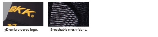3D Embroidery Mesh Fabric