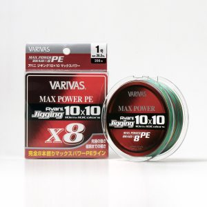 Varivas Avani Jigging 10x10 Max Power PE X8
