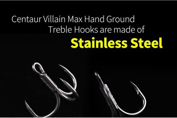 Centaur Villian Max Treble Hook Barbless