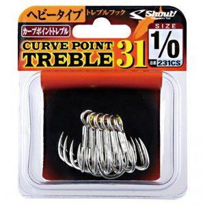 Shout Curve Point Treble 31 (231CS)